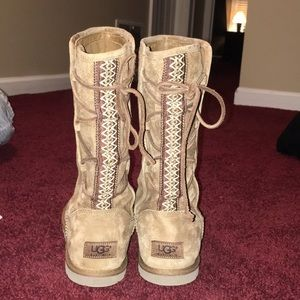 Beige Ugg Boots